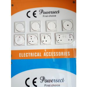 Powersect swiches and socket