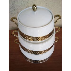 Breakable gold dish by set 3