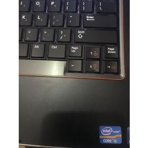 Dell E6420, core i5, 4gb 320gb, backings keyboard, 2.6ghz processing speed. Double cell battery.