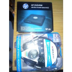 DVD Player and Headset