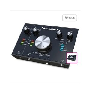 M-Audio Sound Card 2x2M