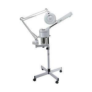 facial steamer with amplified light