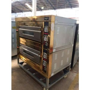 3deck, 4tray gas oven