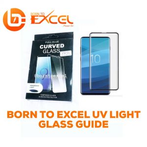 Light glass guide
