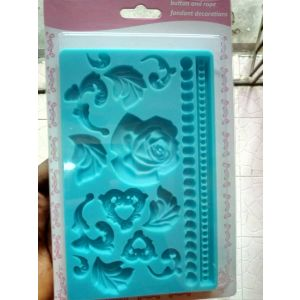 Bead & rose mold