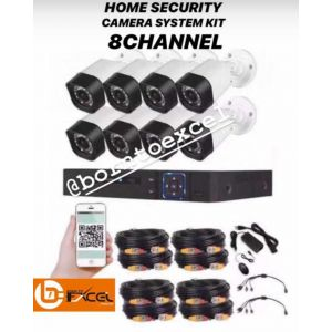 Home security camera system kit