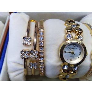 Watch with bangle