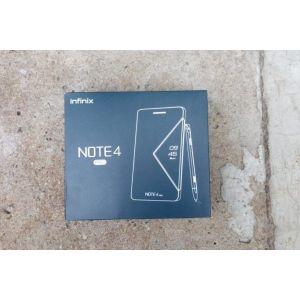 Infinix note 4 pro with pen