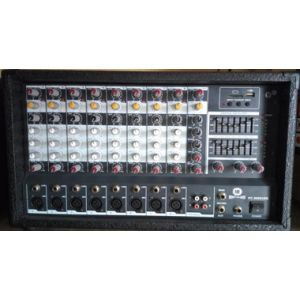 Mighty pro audio 10 channel mixer amp